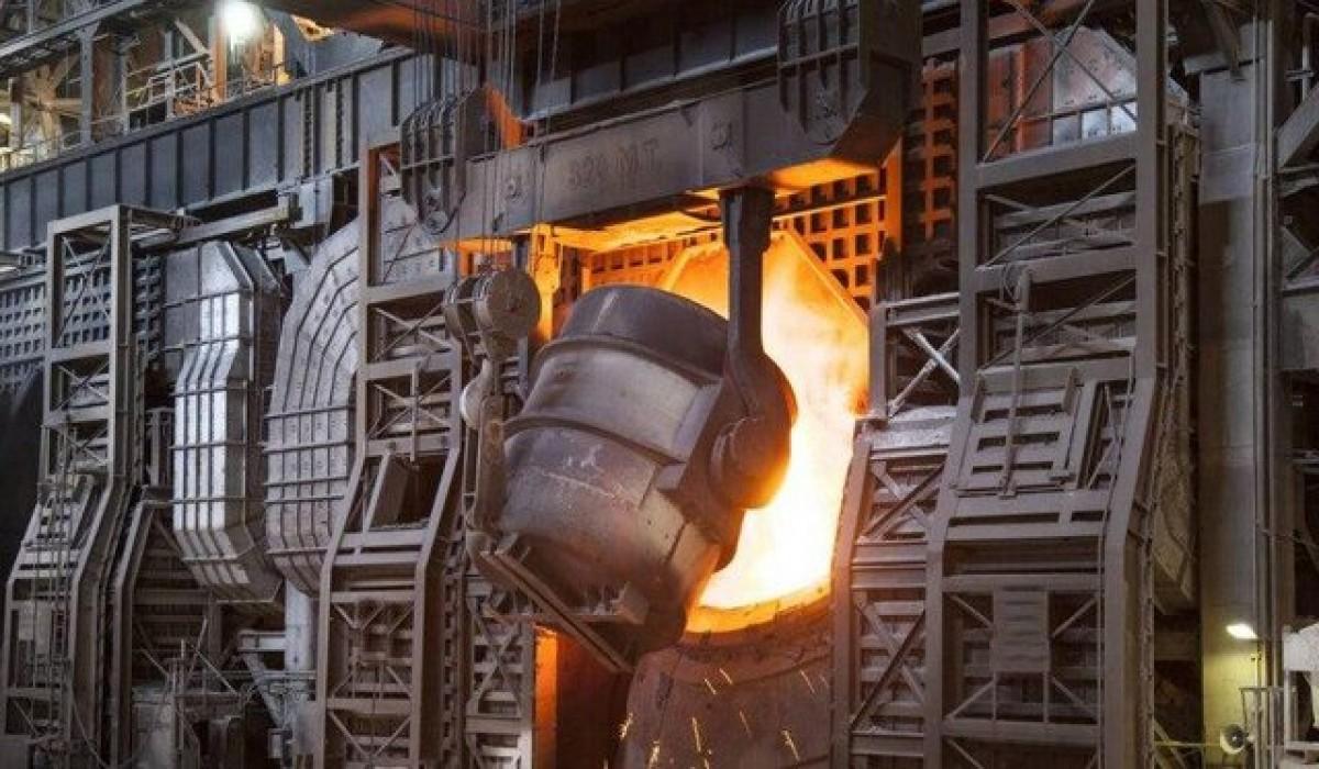 نخستین استفاده از هیدروژن در تولید فولاد
