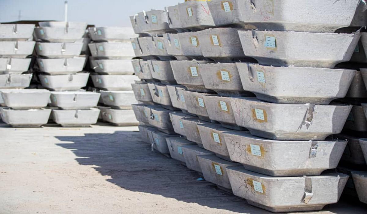 رشد تولید شمش آلومینیوم