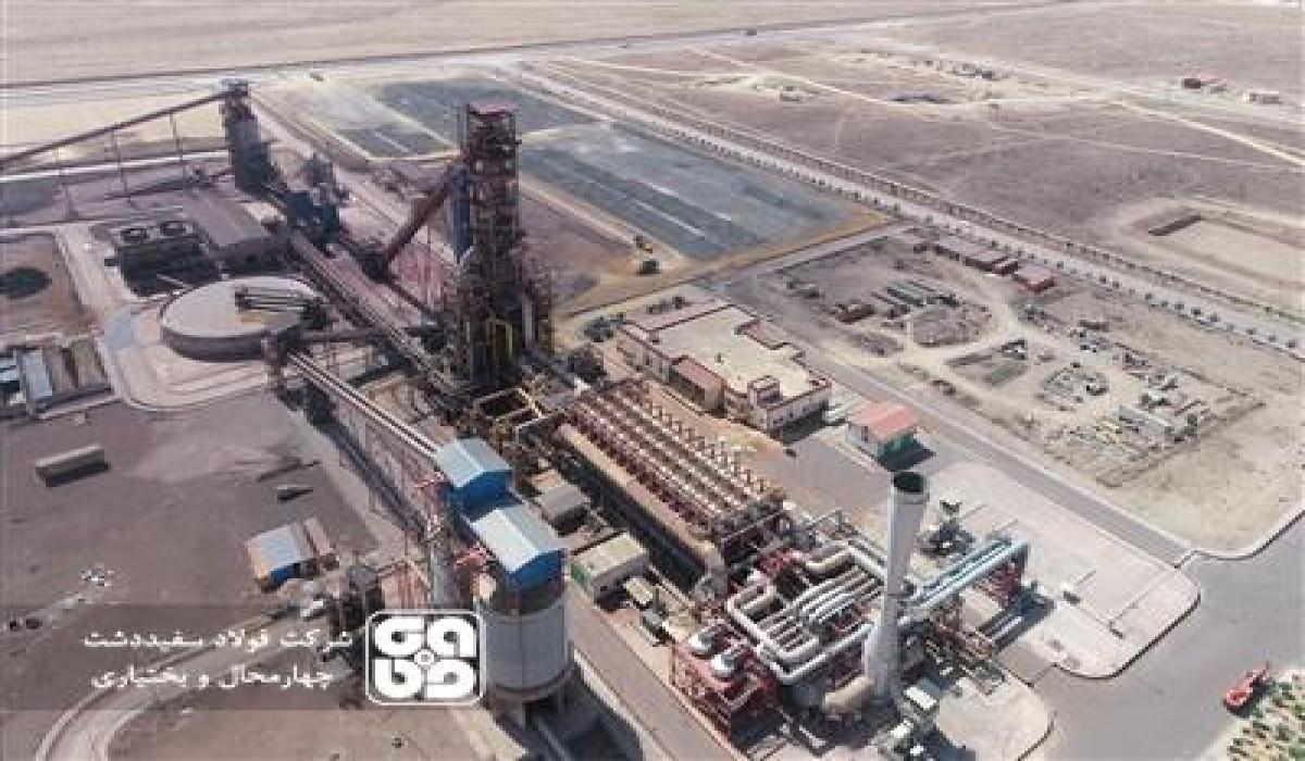 پیشرفت فیزیکی فولادسازی به مرز 90 درصد رسید